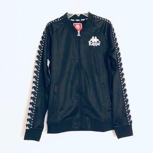 Black Kappa Active Fleece Full Zip Size Large